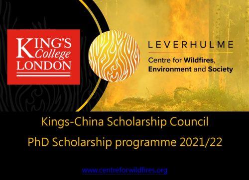 PhD Studentships – King's-China Scholarship Council