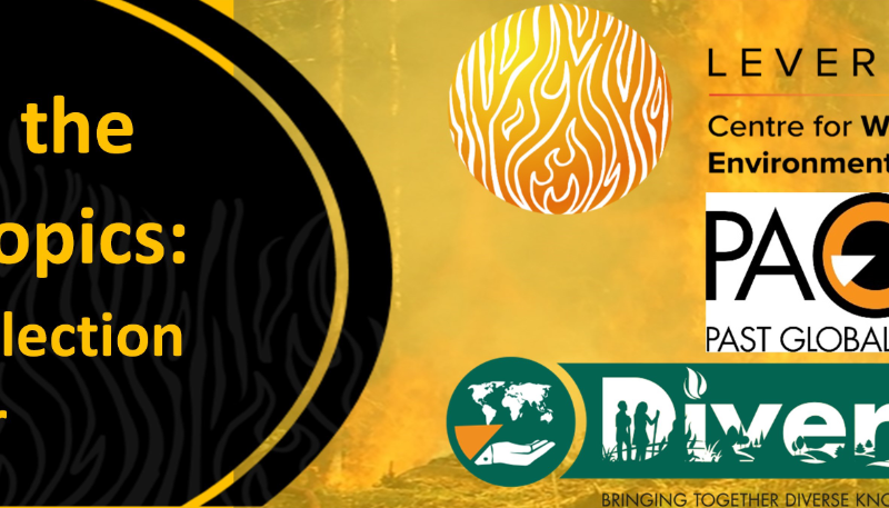 Upcoming: Fire in the NeoTropics – Data Collection Webinar (19th May)