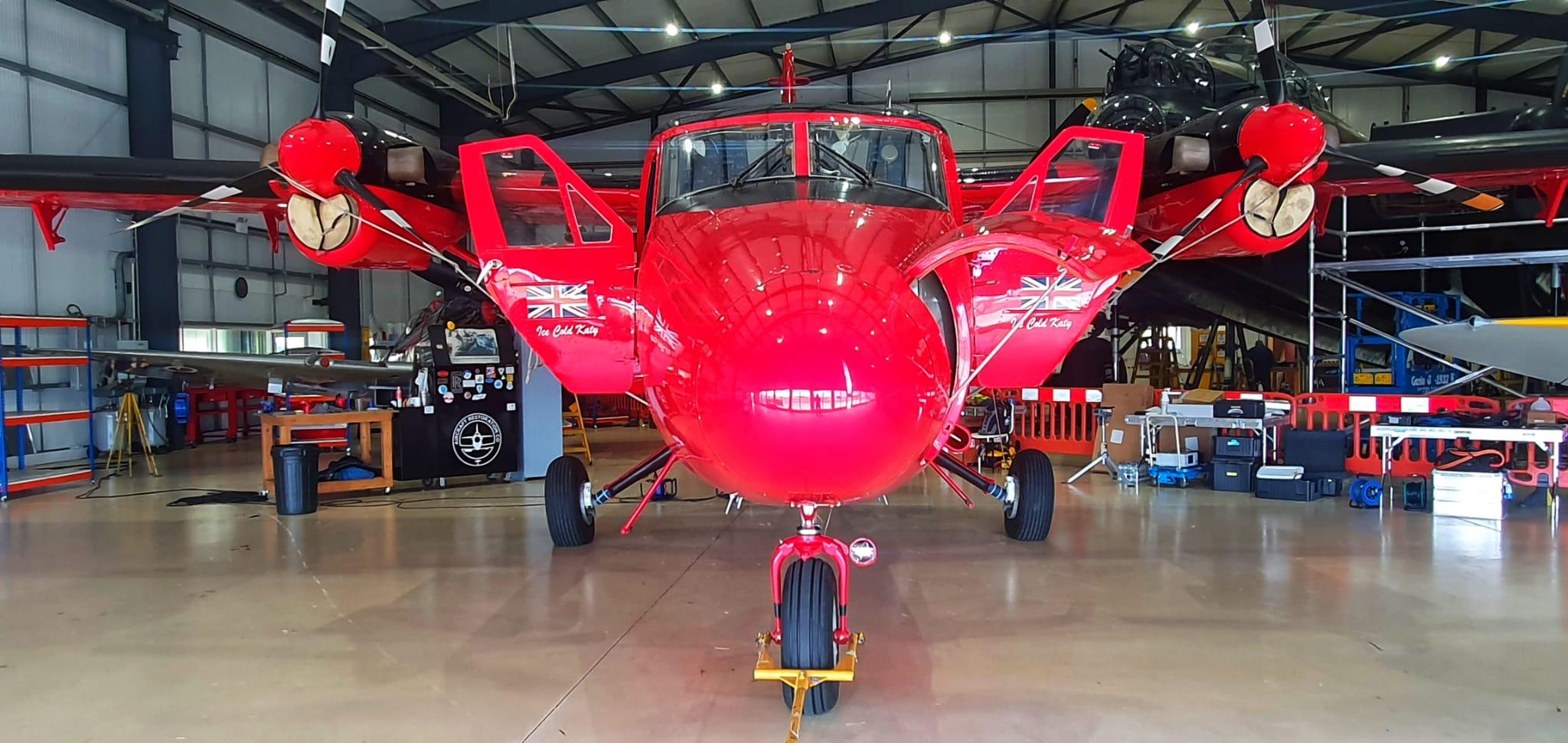 British Antarctic Survey Twin Otter Plane,
