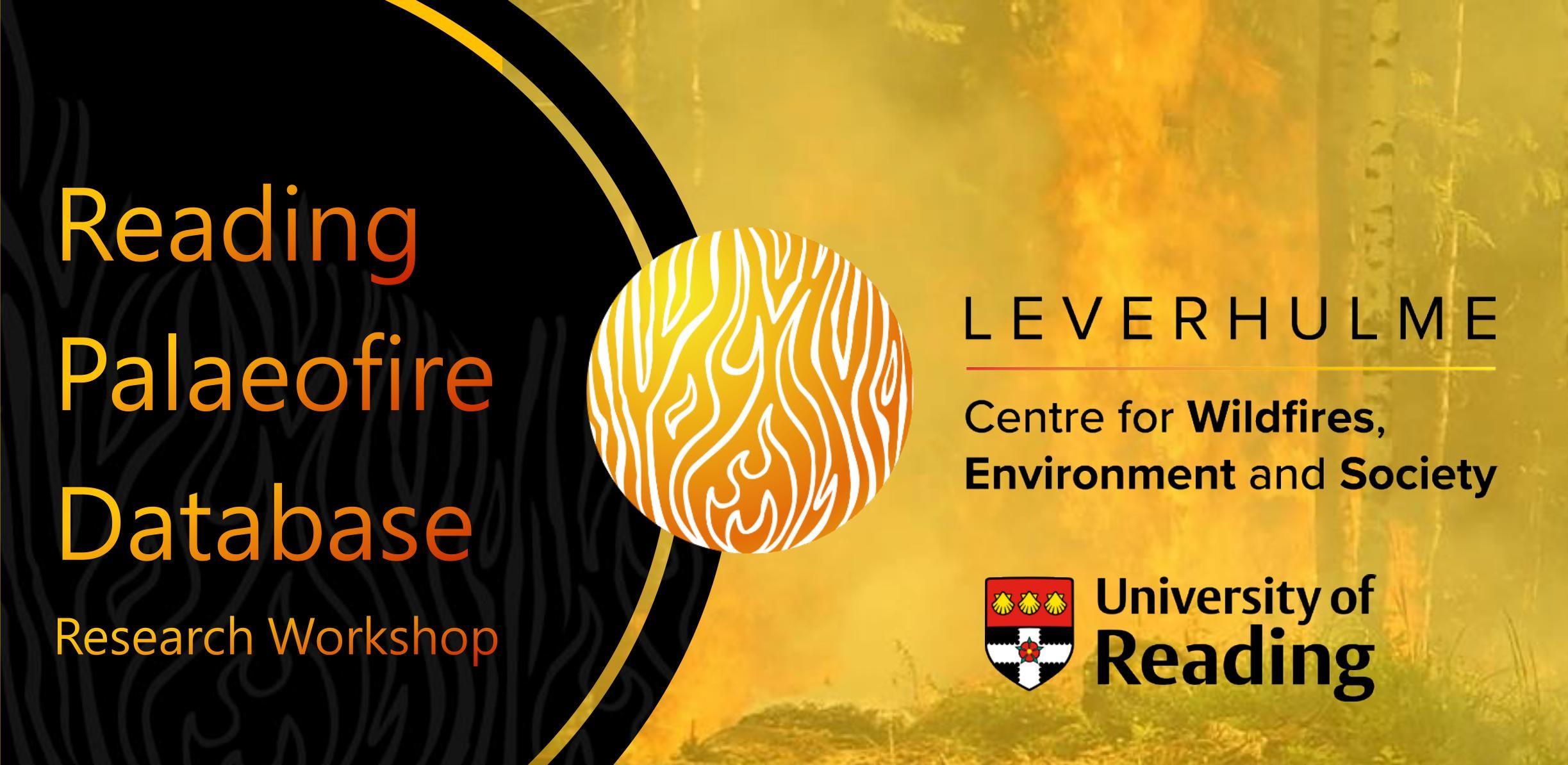 Upcoming: Reading Palaeofire Database Workshop (19, 20, 26 Oct)